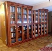 Segment na książki. Regał biblioteczny przeszklony.