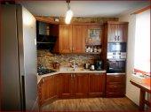 Kuchnia, drzwi dębowe. Projektowanie, produkcja, montaż