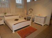Sypialnia biała- metoda wykończenia, materiał , kolor  wymiary do uzgodnienia .